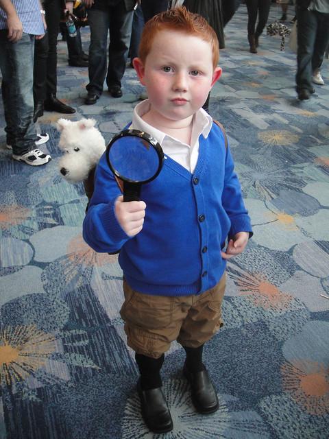 Wondercon Little Tintin Snowy Flickr