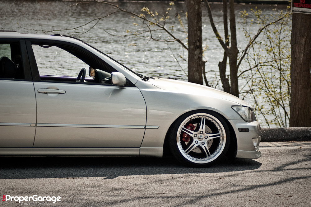 Slammed lexus is300