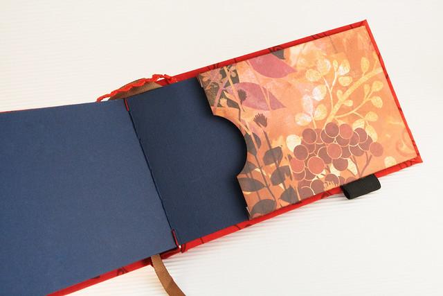 Red art book