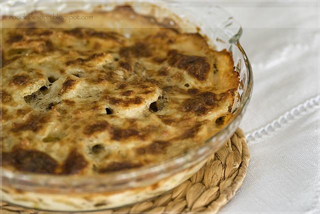 Pastel de patatas y setas 2