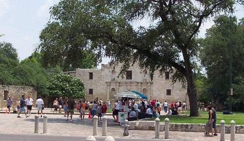 The Alamo, San Antonio (Texas), 20 July 2004
