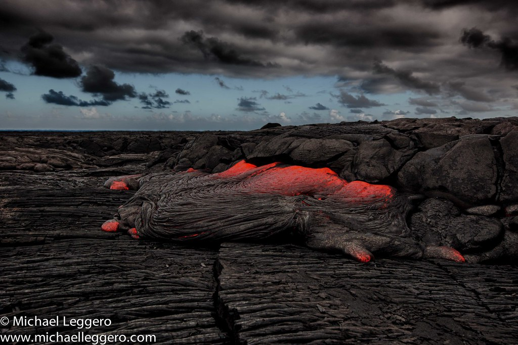hawaiian lava flow
