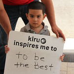 KLRU inspires me to ... to be the best