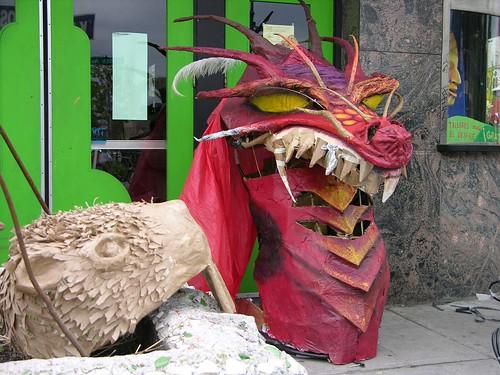 MayDay 2012 dragons and beavers