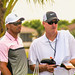Tiger with caddie Joe LaCava