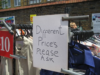 Different price's