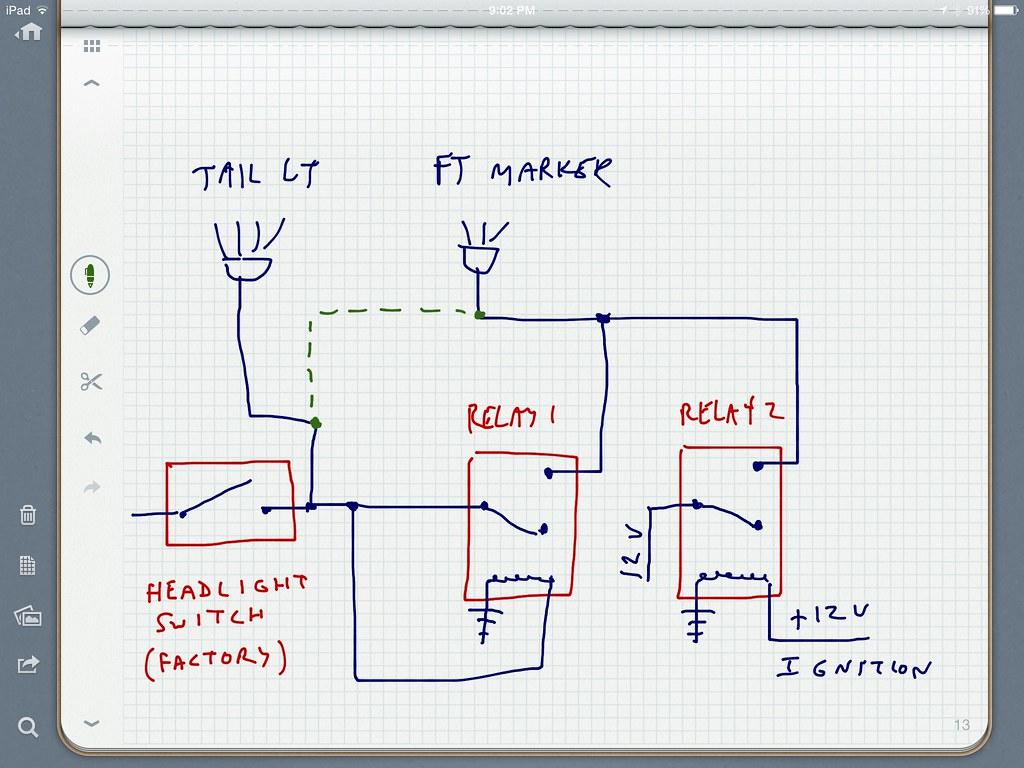 Rewiring Tail Lights