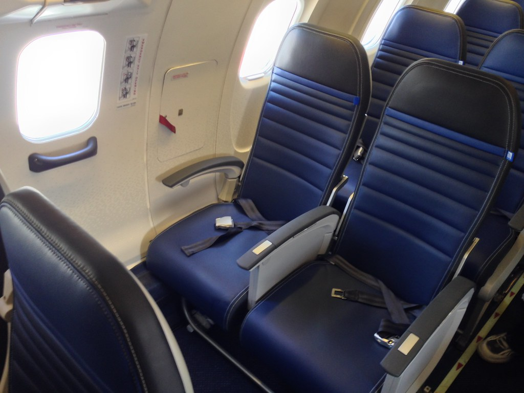 Exit row leather seats