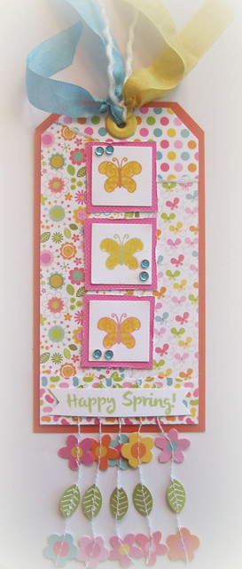 Happy Spring Card - Designs By Dawn Rene