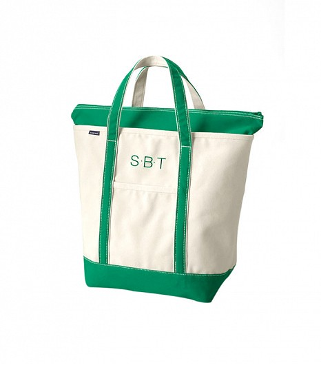 Must Have 2 A Monogrammed Canvas Tote