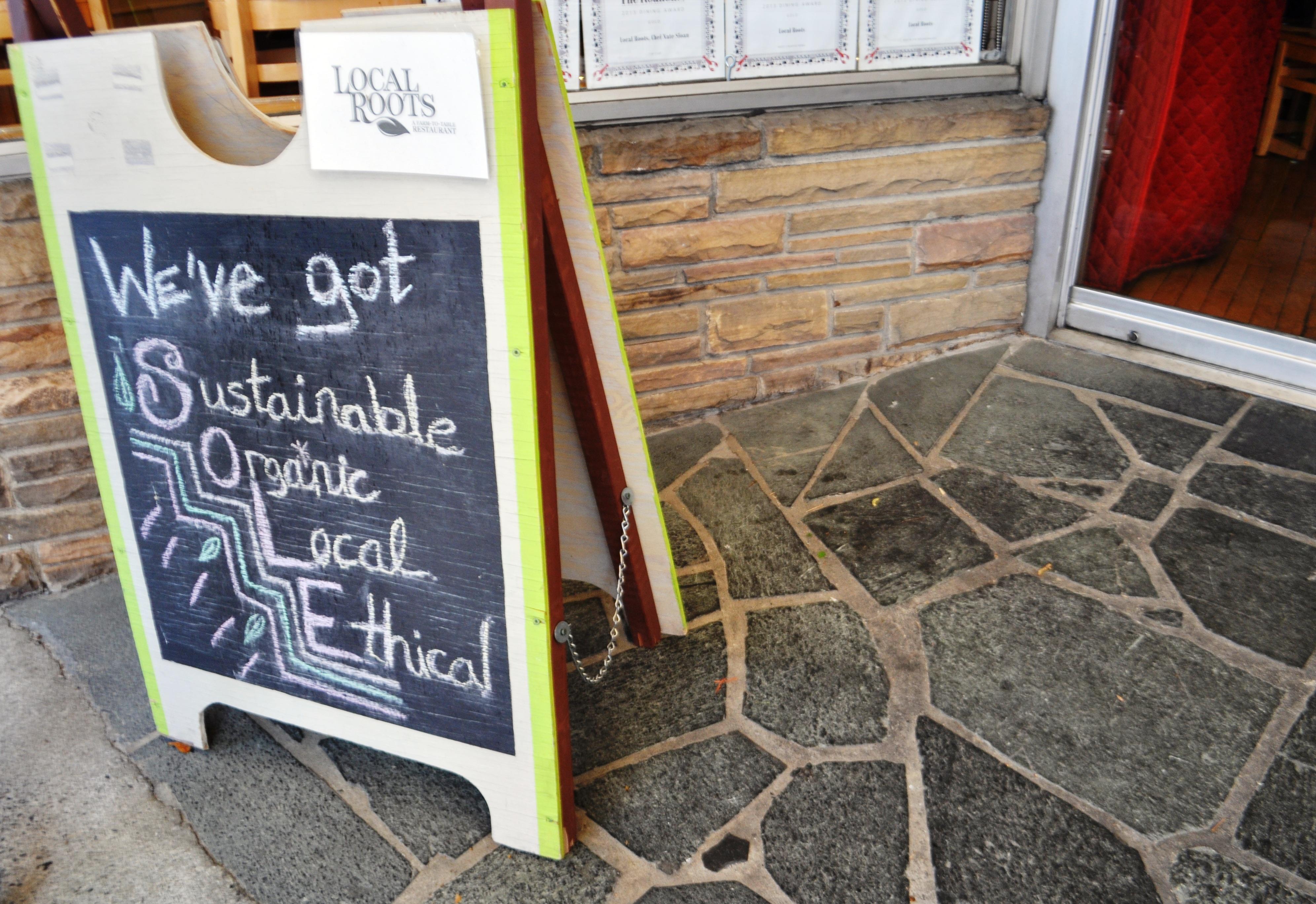 Local Roots Restaurant, Roanoke, VA, April 2014 #OldSchoolVA #LoveVA