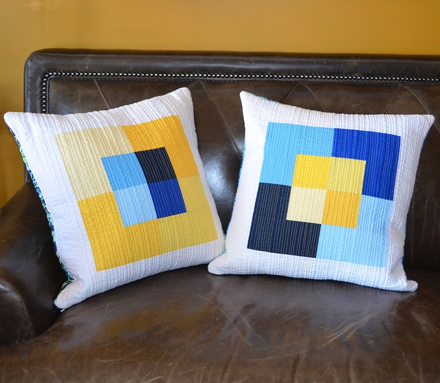 Canvas - pillows from my quilt pattern