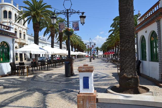 Una bonita plaza de la bella Olivenza