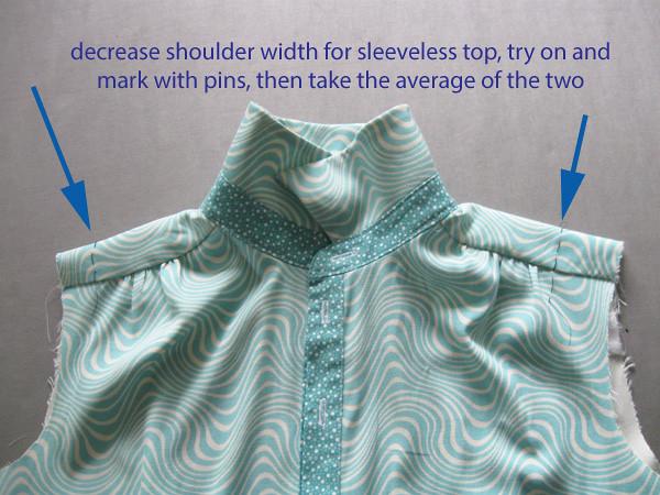 aquatop shoulder width change