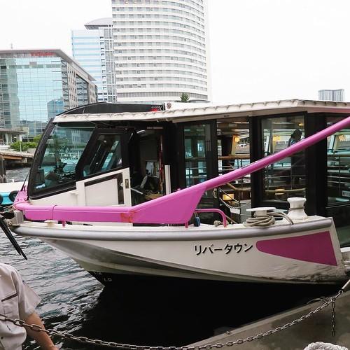 そして、浅草行きの水上バス「リバータウン」に乗船。