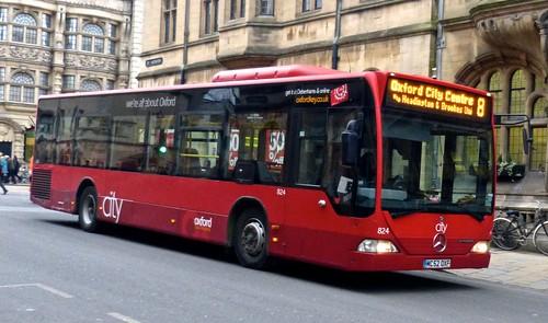 MC52 OXF 'Oxford Bus Company 824 Mercedes-Benz Citaro on Dennis Basford's 'railsroadsrunways.blogspot.co.uk'