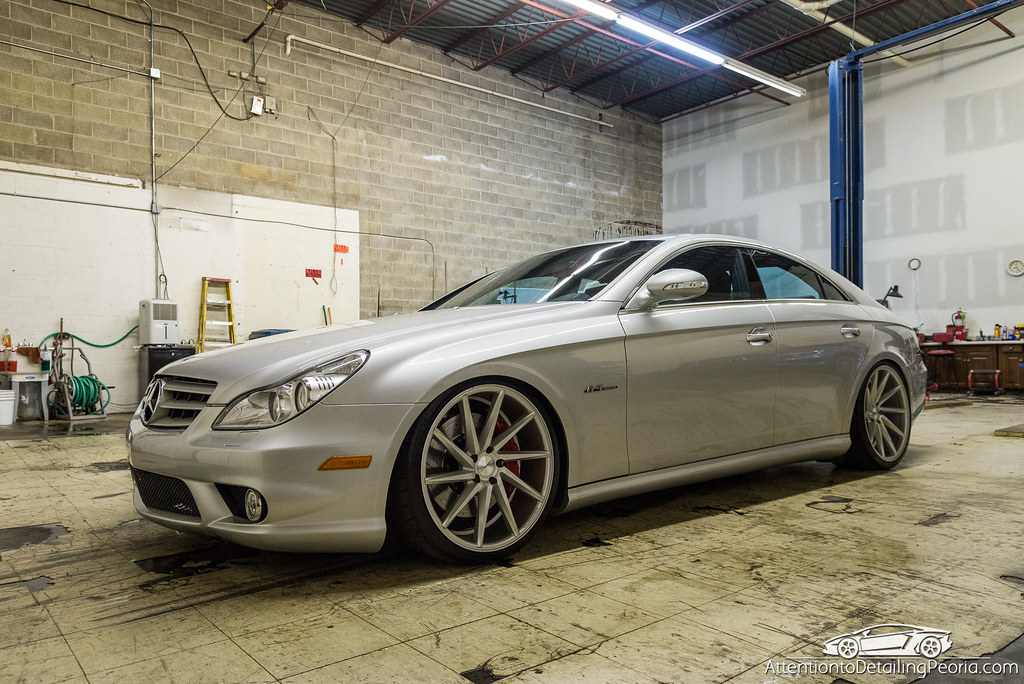 2008 CLS 63 AMG finished photo - side