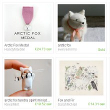 Arctic fox treasury
