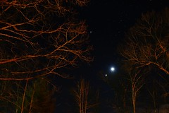 Week 8/52: Moon, Venus, and Jupiter on February 25, 2012