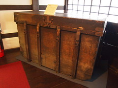 furniture(0.0), cupboard(0.0), chest of drawers(0.0), chest(0.0), baggage(0.0), sideboard(0.0), cabinetry(0.0), wood(1.0), trunk(1.0), hardwood(1.0),