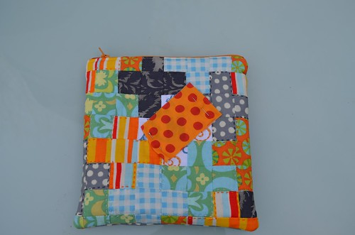 Mouthy Stitches Zip Pouch