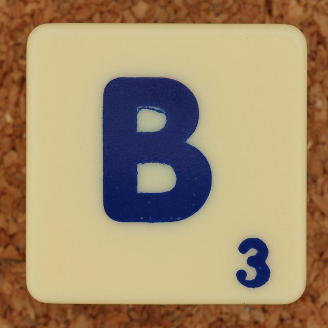 Scrabble Trickster Letter B