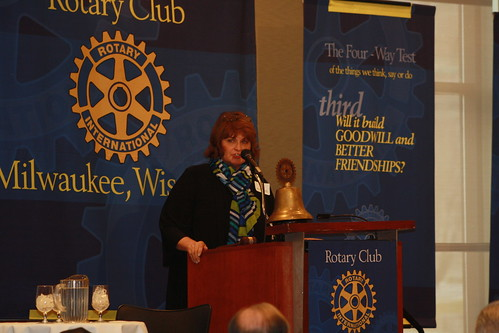 MPC partners with Rotary Club of Milwaukee to facilitate a conversation with Senators.