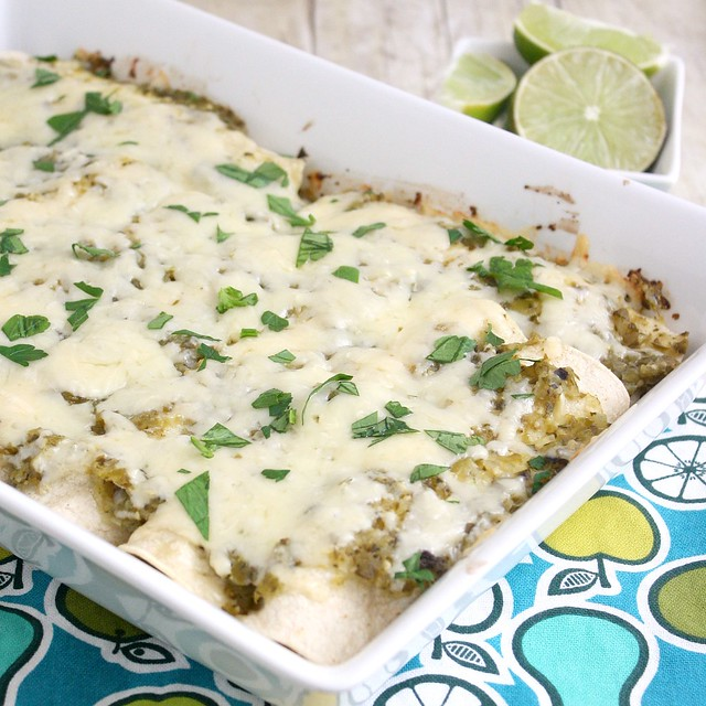 Chicken Enchiladas Verdes | Flickr - Photo Sharing!
