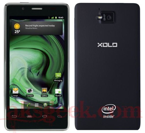 Lava XOLO intel inside