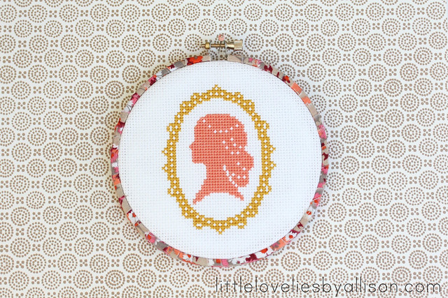 Fabric Wrapped Embroidery Hoop
