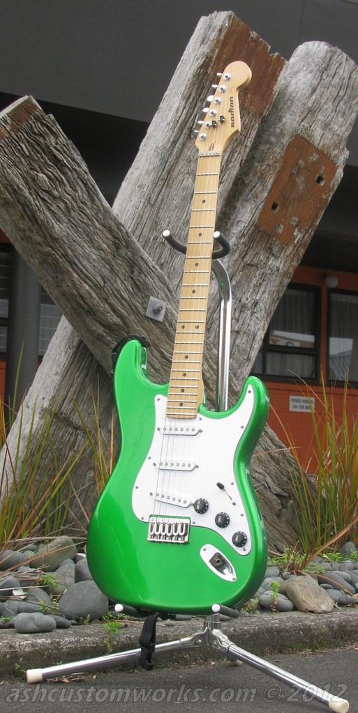 Ash Customworks stuff 2012 - NZGuitars com