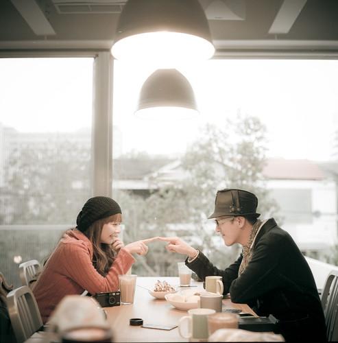 [フリー画像素材] 人物, カップル, 台湾人, 人物 - 二人 ID:201203072200
