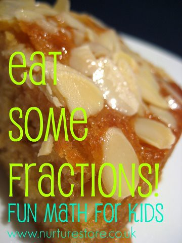 Eat some fractions - Fun, Cool Math for Kids {Weekend Links} from HowToHomeschoolMyChild.com