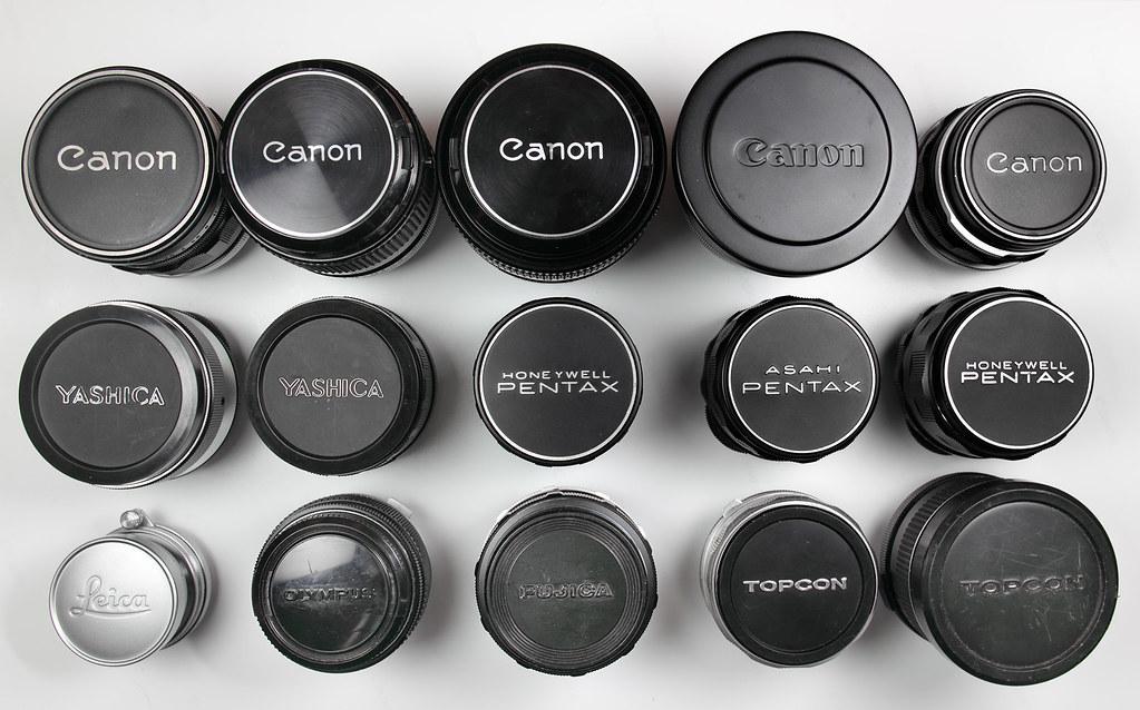 Radioactive lenses -- group shot