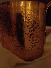 Moscow Mule at America Eats
