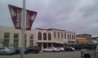 Downtown Burnet, Texas