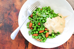 warm pea salad-4