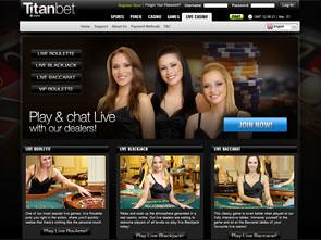 Titan Bet Live Casino Home