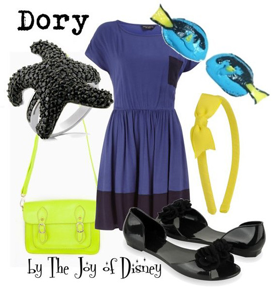 Inspired by: Dory from Finding Nemo