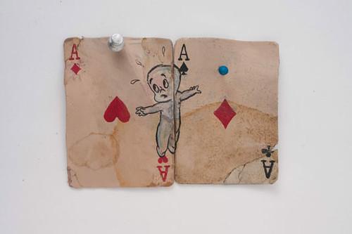 Kristen Morgin, Casper Between 2 Cheating Aces, 2011