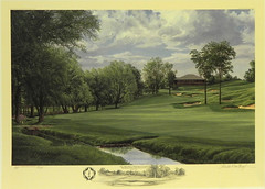 The 18th Hole, Memorial Course, Murfield Village Golf Clug, Dublin, Ohio