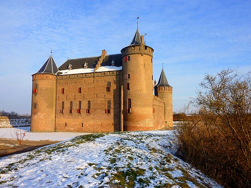 Muiderslot in Muiden, the Netherlands