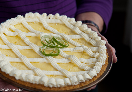 key lime pie (baked)