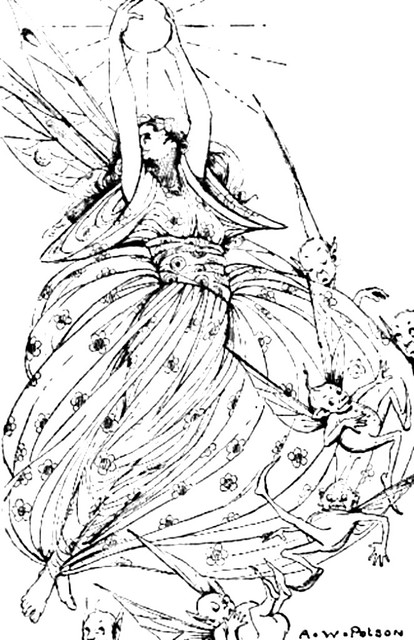Fairy Queen Coloring Pages 54690 Usbdata