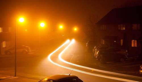 Moggy night here (Misty/Foggy) by Mick Hyde