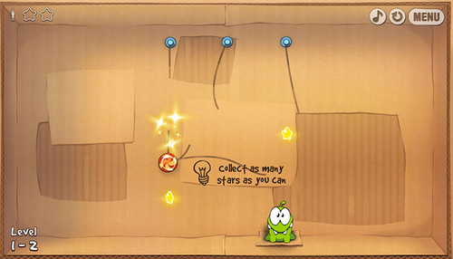 1. Cut the Rope