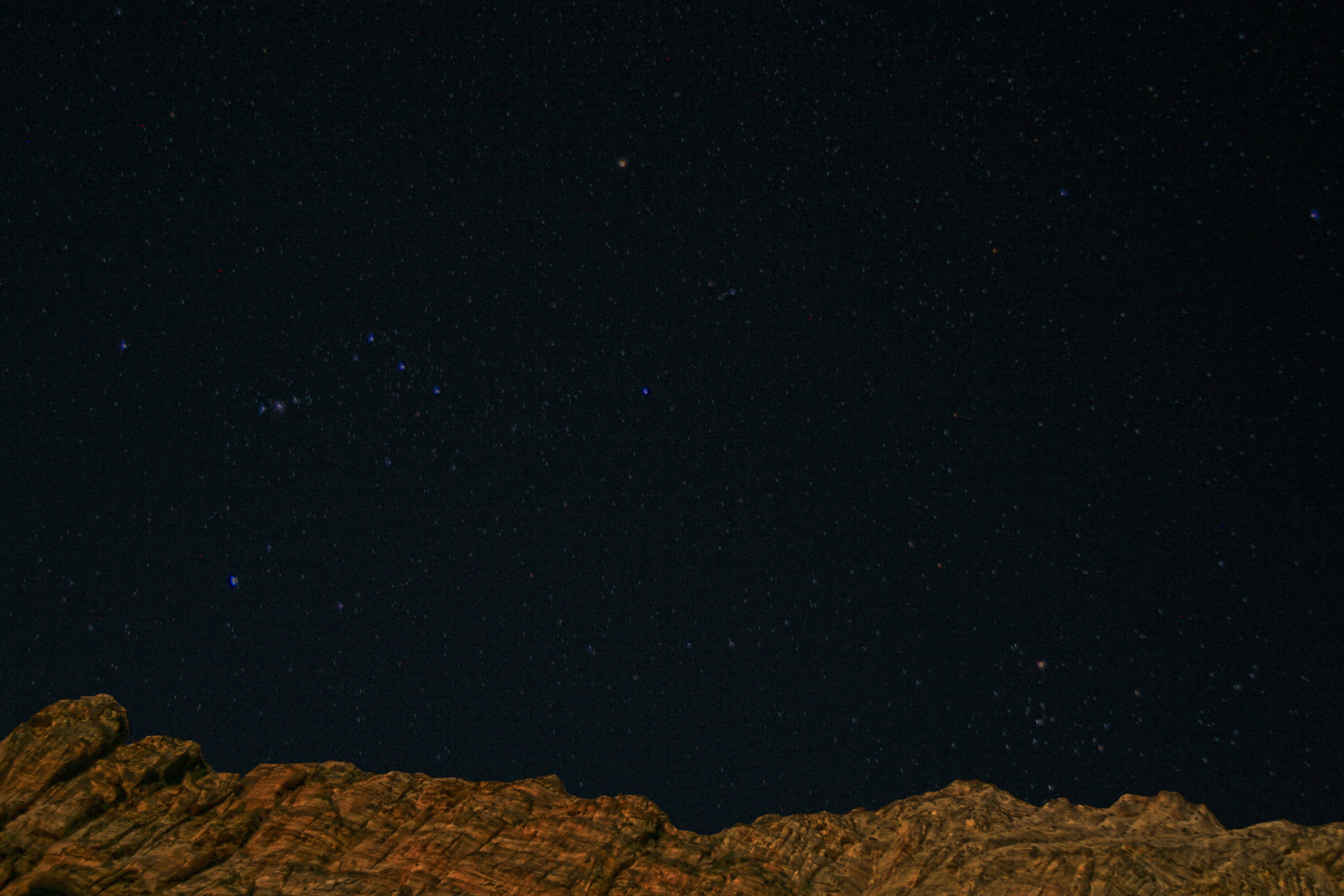 Orion Over Zion Flickr Photo Sharing
