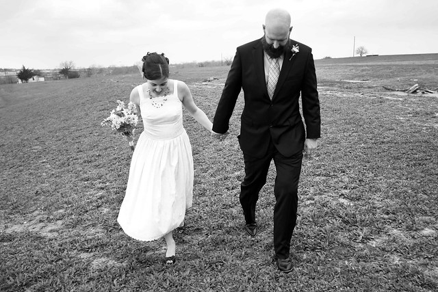 Mel and Clay, Leap Year elopement, brenham texas photographer, weddings, ceremony, apw, a practical wedding