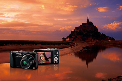 Panasonic LUMIX DMC-TZ30 pays a visit to the Mont Saint-Michel.