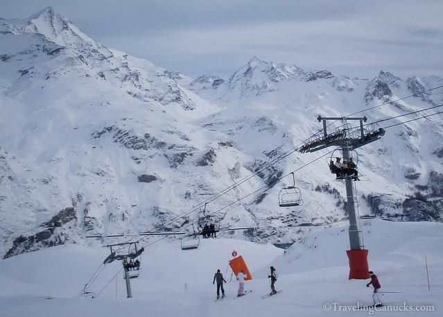 Tignes Ski Resort in the French Alps